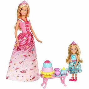 Boneca Barbie Dreamtopia Festa De Chá Mattel Fdj19