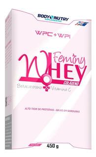 Feminy Whey Body Nutry Whey Com Vitamina C Colágeno