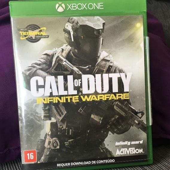 Call Of Duty Infinite Warfare Xbox One - Mídia Física Usado