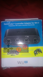 Gamecube Adaptador Usb Oficial Super Smash Bros. For Wii U