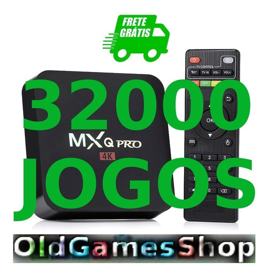 Tv Box Android Emuladores + 32000jgs Envio P Email