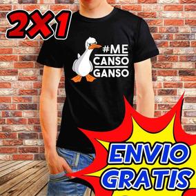 Playera Me Canso Ganso, 2x1, Amlo, Peje, Combo De 2 Playeras