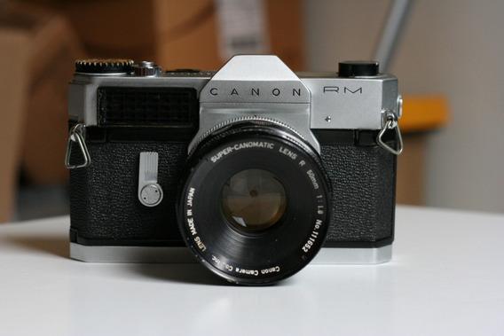 Rara Canonflex Rm. Slr Canon Da Decada De 1960 Funcionando