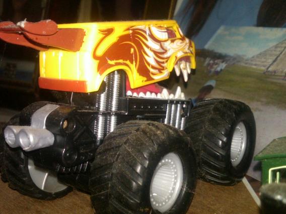 Tractor Carro Ruedas Grandes.juguete Usado.