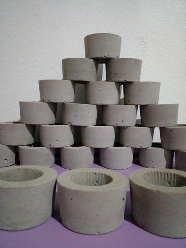 Imagem 1 de 3 de Vaso Cachepô Baby Para Mini Cactos E Suculentas. 15 Unidades
