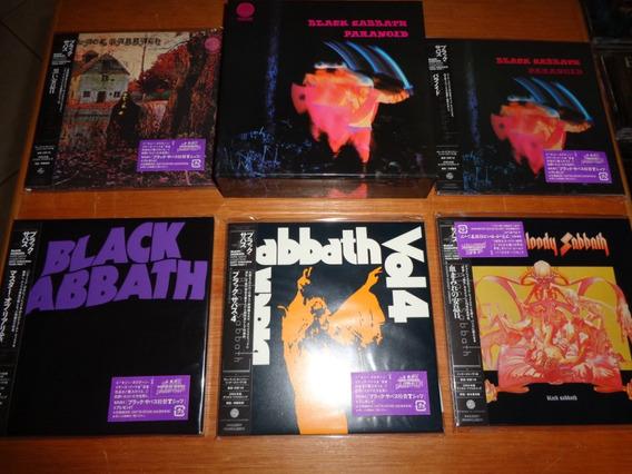 Black Sabbath - Cd Box Paranoid C/ 05 Cds - 2007 - Japão !