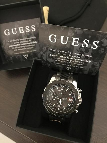 Relógio Masculino Guess Modelo U1046g1 Original