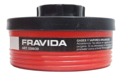 Imagen 1 de 5 de Filtro Fravida 5300/20 Vap. Organ Lacas Y Solvente X Unidad