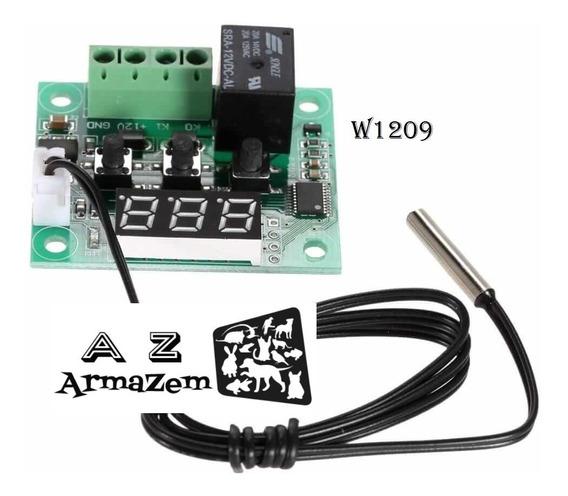 Termostato / Controle Temperatura W1209 Para Chocadeira