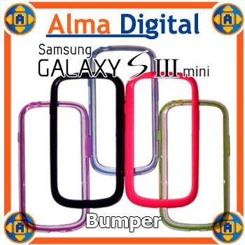 Bumper Samsung Galaxy S3 Mini Funda Forro Protector Estuche