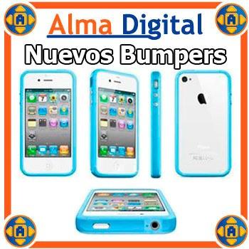 Forro Bumper iPhone 4 4s Estuche Protector Goma