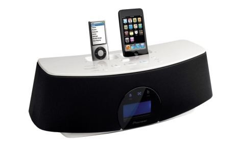 Dual Dock Pioneer Xw-nac3-k Para iPhone, iPod