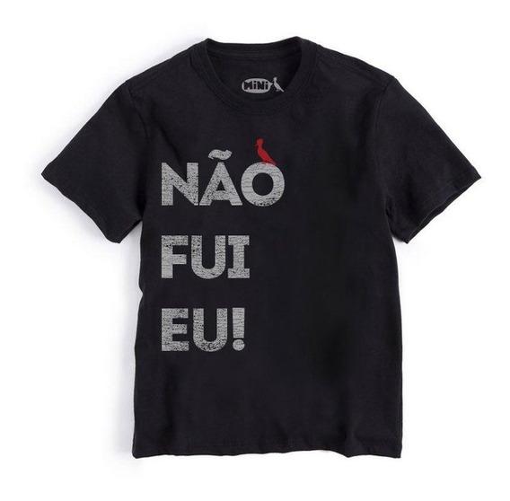 Camiseta Mini Nao Fui Eu Reserva Mini