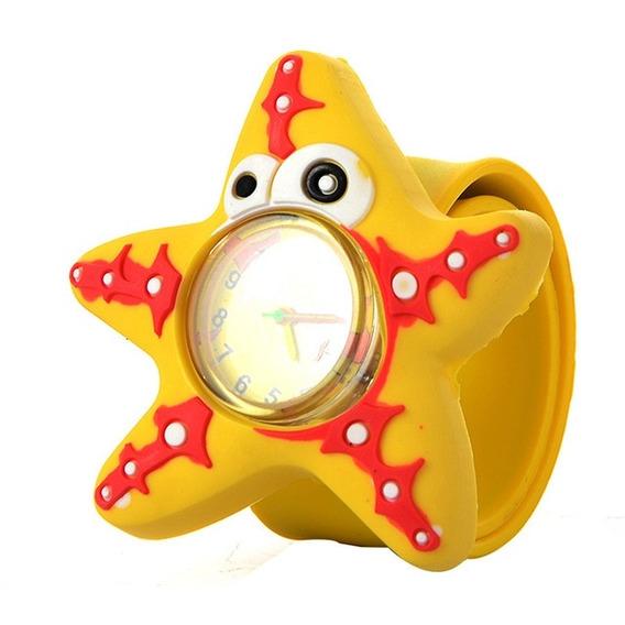 10pcs 3d Dibujos Animados Reloj Para Niños ( Estrellas De Ma