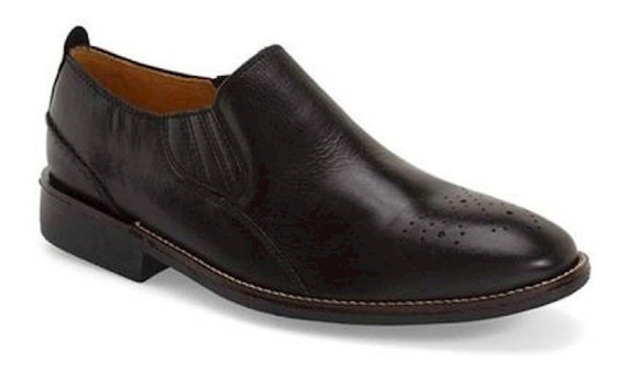 Sapato Social Masculino Side Gore Sandro Moscoloni New