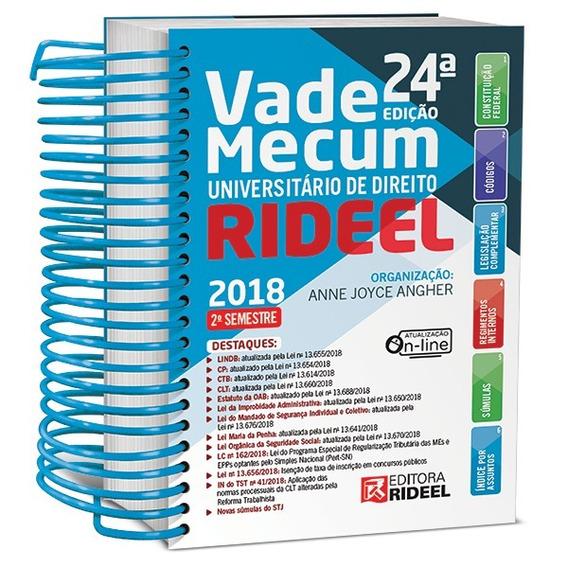 Vade Mecum Universitario - 2 Semestre - 2018 - Rideel