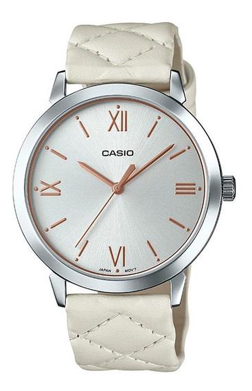 Relógio Casio Feminino Analógico Enticer Ltp-e153l-7adf