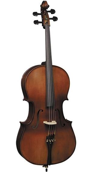 Violoncelo Cello Profissional Eagle 4/4 Ce300 C/ Estojo Luxo