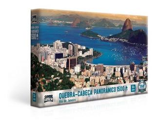 Quebra Cabeça 1500 Peças Panorâmico Rio De Janeiro - Toyster