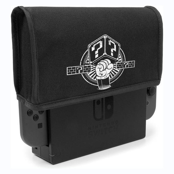 Capa Nintendo Switch Dock Protetora Antipoeira