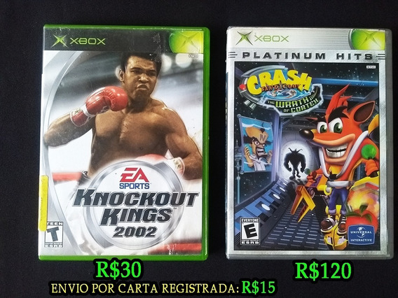 Knockout Kings 2002 Xbox Clássico