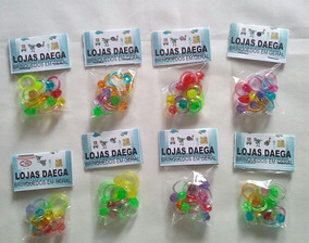 Kit 60 Pacotes Mini Brinquedos P\ Sacolinha Surpresa Brinde