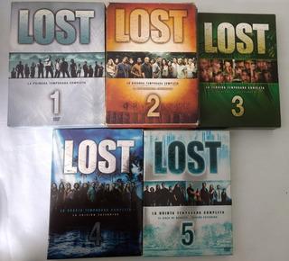 Lost (perdidos) Temporadas 1-5 (original-importada)
