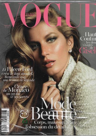 Vogue Paris 2013 Gisele Bundchen Frete Grátis