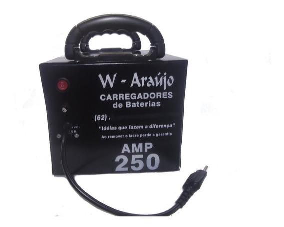 Fonte Automotiva Carregador De Bateria 250amp Lenta E Rapida