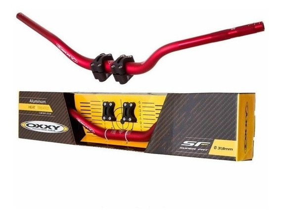 Guidao Oxxy Alto Para Motocross Trilha Off Road + Adaptador