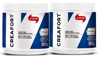 2 Creatina Creafort Vitafor - Creapure 300g