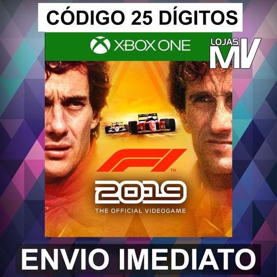 F1 2019 Legends Edition Xbox One Codigo 25 Digitos