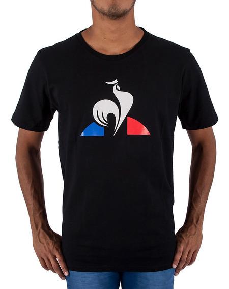 Remera Le Coq Sportif Ess Logo Negro Hombre