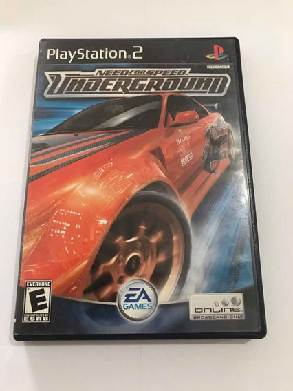 Need For Speed Underground Playstation 2 Jogo Original Ps2