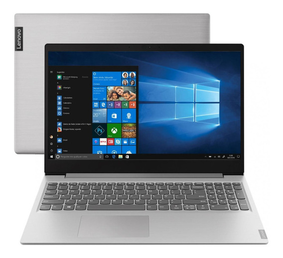 Notebook Lenovo Ideapad I5-1035g1 8gb 128ssd+2tb 15,6 Hd