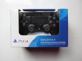 Controle Ps4 Jet Black Novo , Dualschock Sony , Original