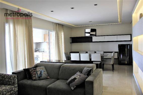 Apartamento À Venda, 146 M² Por R$ 1.100.000,00 - Santa Paula - São Caetano Do Sul/sp - Ap0924