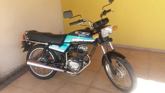 Cg 125 - 1989 - Preta - Conservadíssima
