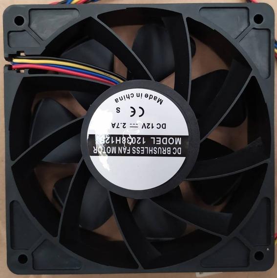 Fan Cooler O Disipador Para Antminer 6000 Rpm Doble Rodamie