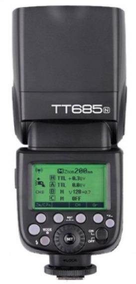 Godox Tt685n Thinklite Ttl Flash Para Câmeras Nikon