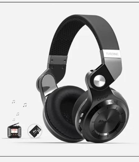 Bluedio T2 + Fones De Ouvido Bluetooth 4.1 Sem Fio Fm/sd