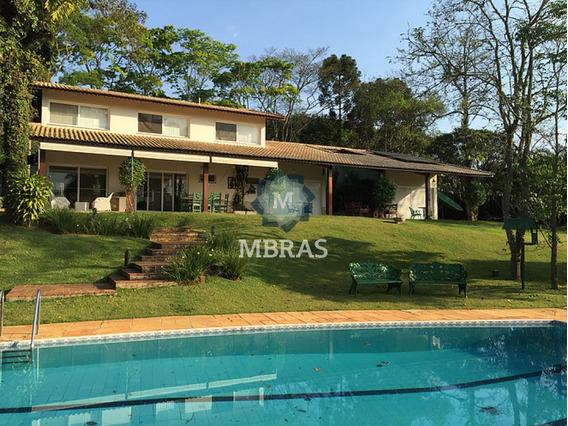 Linda Chácara Em Condomínio Fechado - 50 Minutos De São Paulo. - Mb1806