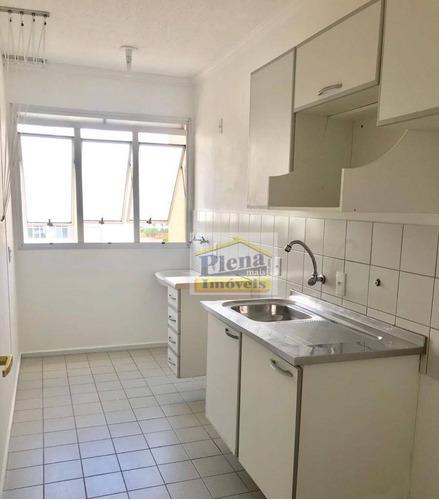 Imagem 1 de 15 de Apartamento Com 3 Dormitórios À Venda, 55 M² Por R$ 270.000,00 - Jardim Dom Vieira - Campinas/sp - Ap1350