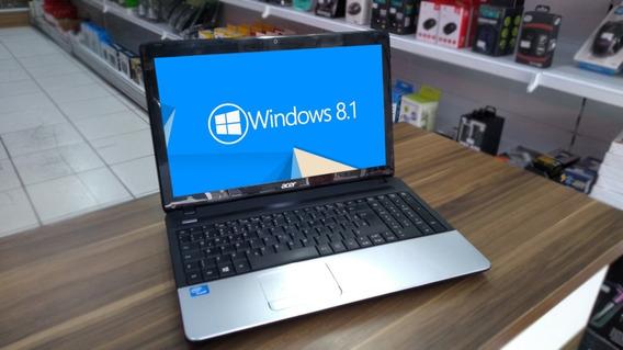 Notebook Acer E1-531-2606, 15,6pol, 4gb, 320gb, W8.1 Trial (usado)
