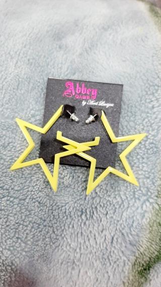Brincos Yellow Star Abbey Dawn By Avril Lavigne