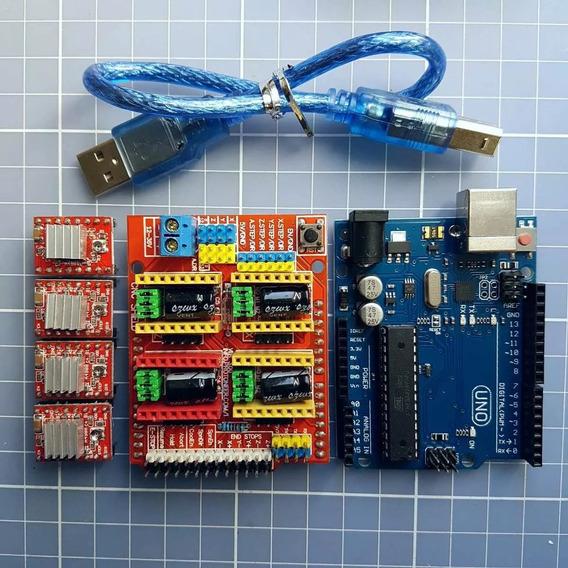 Kit Cnc V3.0 Professor Marlon Nardi - Frete Grátis