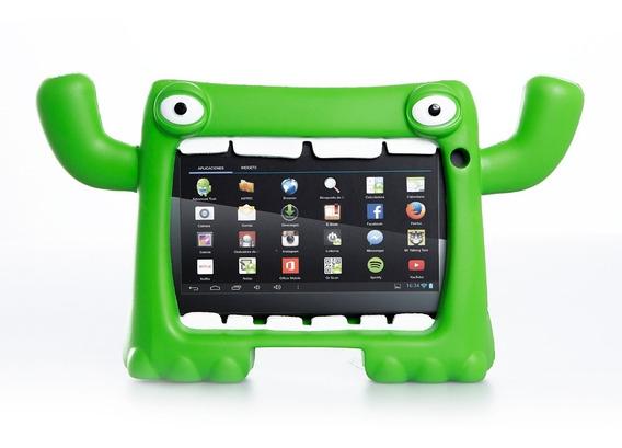 Funda Tablet 7 Pulg Antigolpes Niños Monster Mymo Level Up