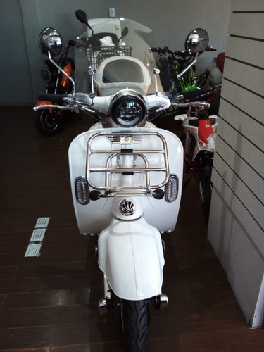 New Vespa Vintage Sunra Electrico Scooter Moto 3000w Litio M