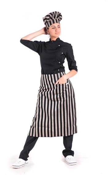 Chaquetas De Chef, Faldones, Gorros, Pantalones Y Delantales