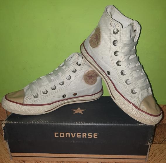 Zapatillas Converse All Star Linen Hi Natural